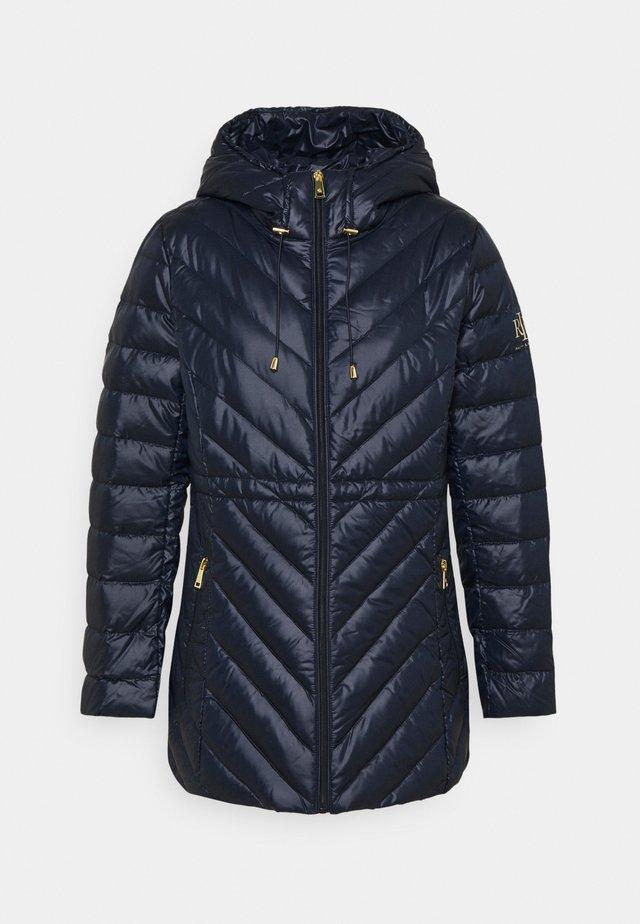 ANORAK COAT - Down coat - navy
