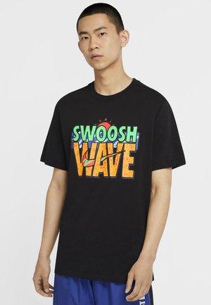 TEE SUMMER WAVE - Print T-shirt - black