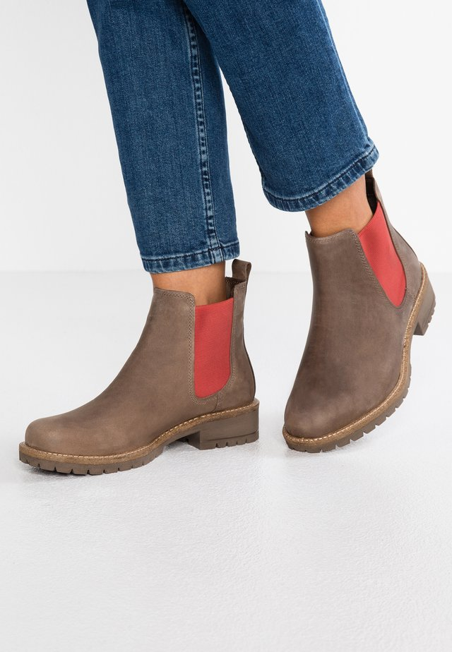 ELAINE - Ankle boots - stone