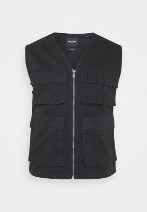 ONSEDDIE POCKET WAISTCOAT - Waistcoat - black