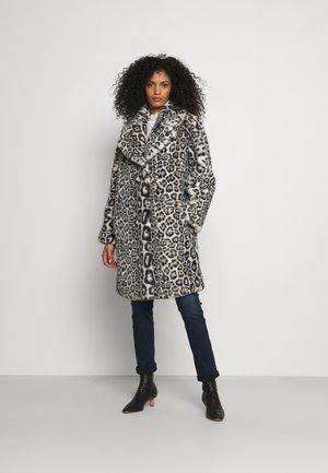 PELLICCIA - Classic coat - maculato grigio