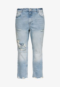 River Island Plus - Relaxed fit jeans - denim medium - 0