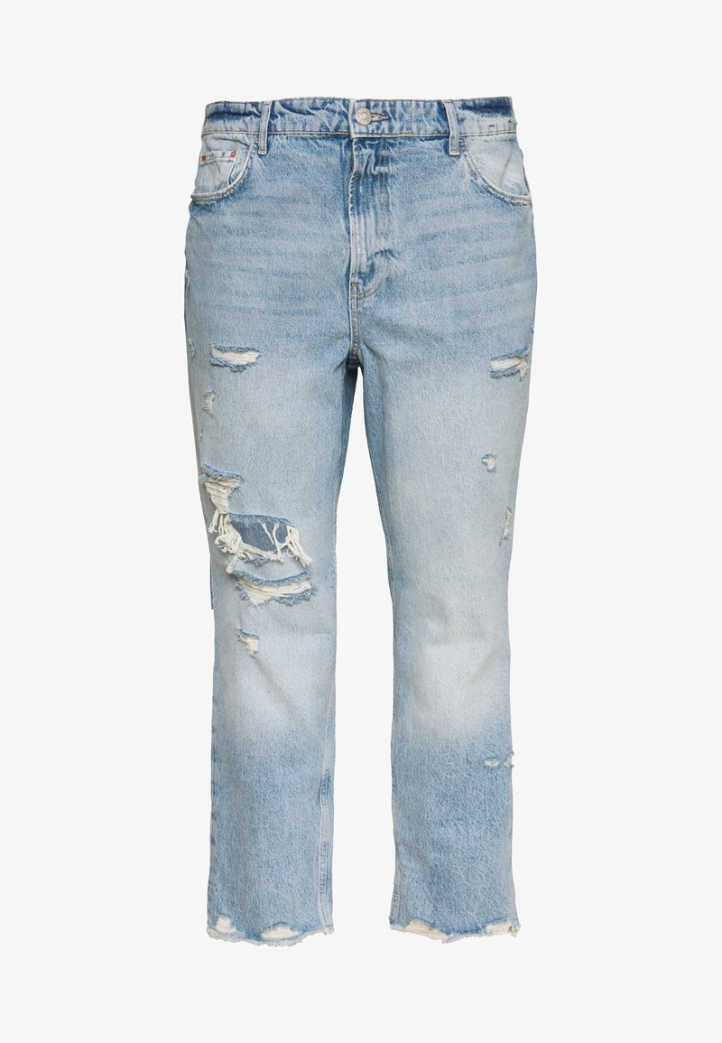 River Island Plus - Relaxed fit jeans - denim medium
