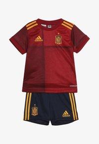 adidas Performance - SPAIN FEF HOME JERSEY - Sportovní kraťasy - red - 5