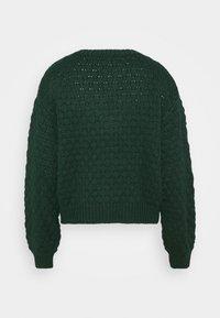 Monki - NINNI CARDIGAN - Kardigan - green dark - 7