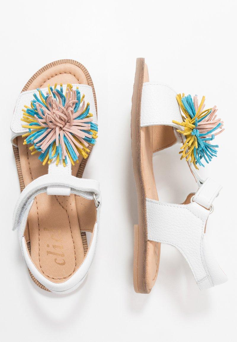 clic! - Sandales - blanco