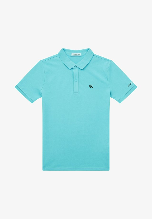 MONOGRAM CHEST FITTED  - Polo - bright sky