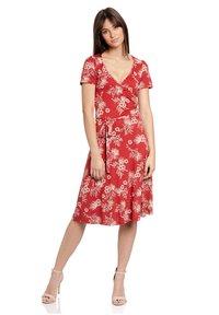 Vive Maria - HAWAII VACATION - Jumper dress - rot allover - 0