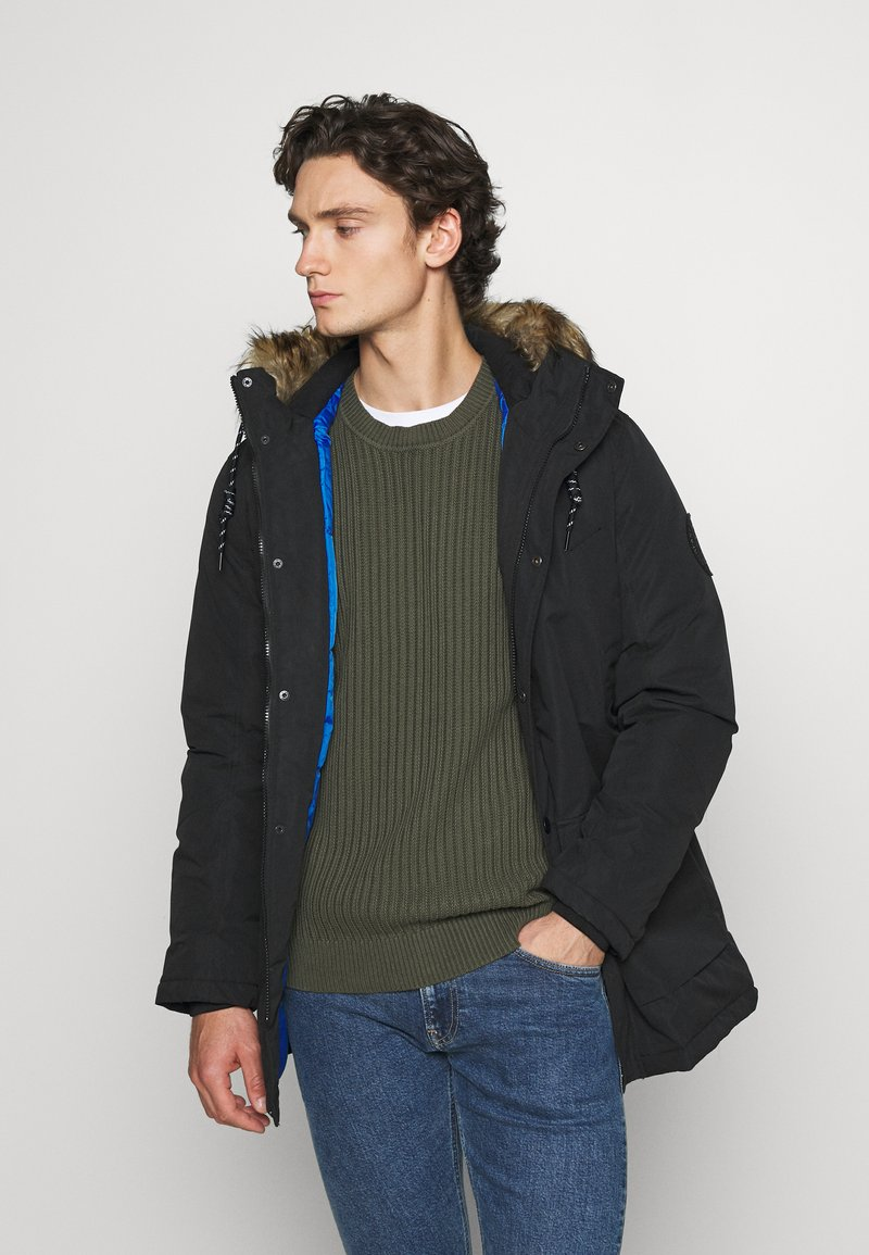 Jack & Jones - Winter coat - black
