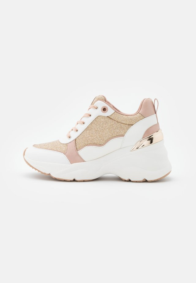 DARDOVIEL - Sneakers basse - rose gold
