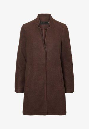 Short coat - chocolate plum