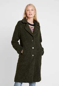 Q/S designed by - Winter coat - dark olive - 0