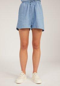 ARMEDANGELS - Denim shorts - foggy blue - 0