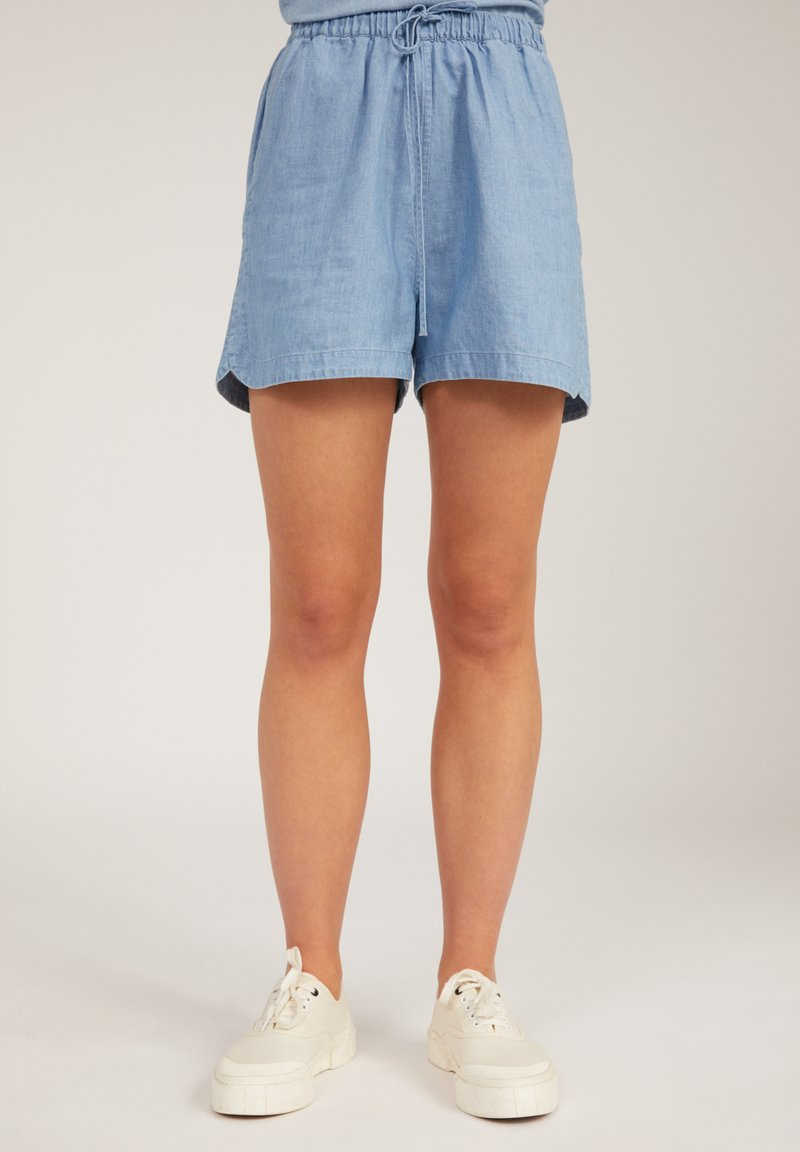 ARMEDANGELS - Denim shorts - foggy blue