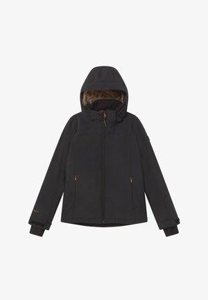 ARIESTA  GIRLS - Softshellová bunda - black