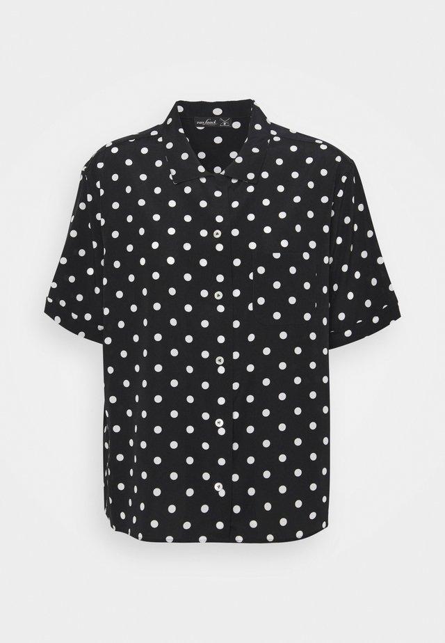 BENGI - Camicia - schwarz