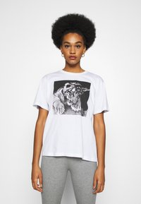 Even&Odd - Print T-shirt - white - 0