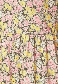 Vila - VINATALIE SHORT DRESS - Jersey dress - dark olive - 5