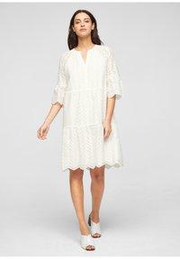 s.Oliver BLACK LABEL - Day dress - white - 1