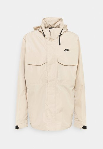 Summer jacket - grain/black