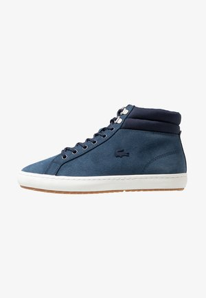 STRAIGHTSET INSULAC - Sneakersy wysokie - navy/offwhite