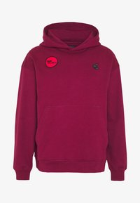 Vivienne Westwood Anglomania - TIME TO ACT - Hoodie - beet red - 3