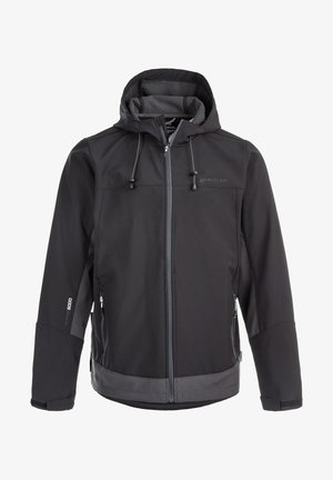SOFTSHELLJACKE RYDER M SOFTSHELL - Soft shell jacket - 1001 black