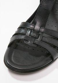 ECCO - ECCO FLASH - Sandals - black - 6