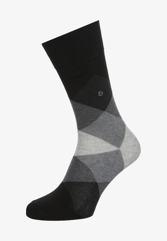 CLYDE - Socks - black