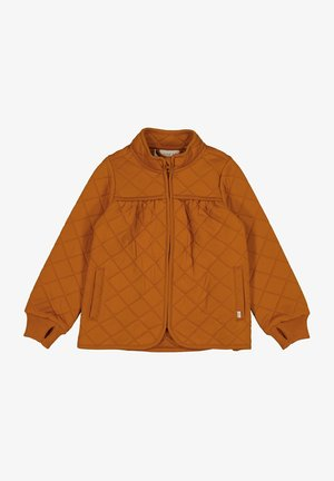 Winter jacket - terracotta