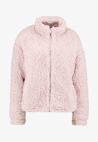New Look - ZIP THROUGH - Light jacket - pink - 4