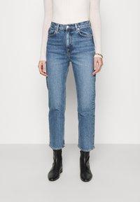 ARKET - Straight leg jeans - blue medium - 0