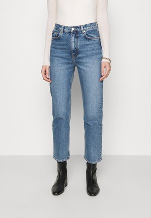 Straight leg jeans - blue medium