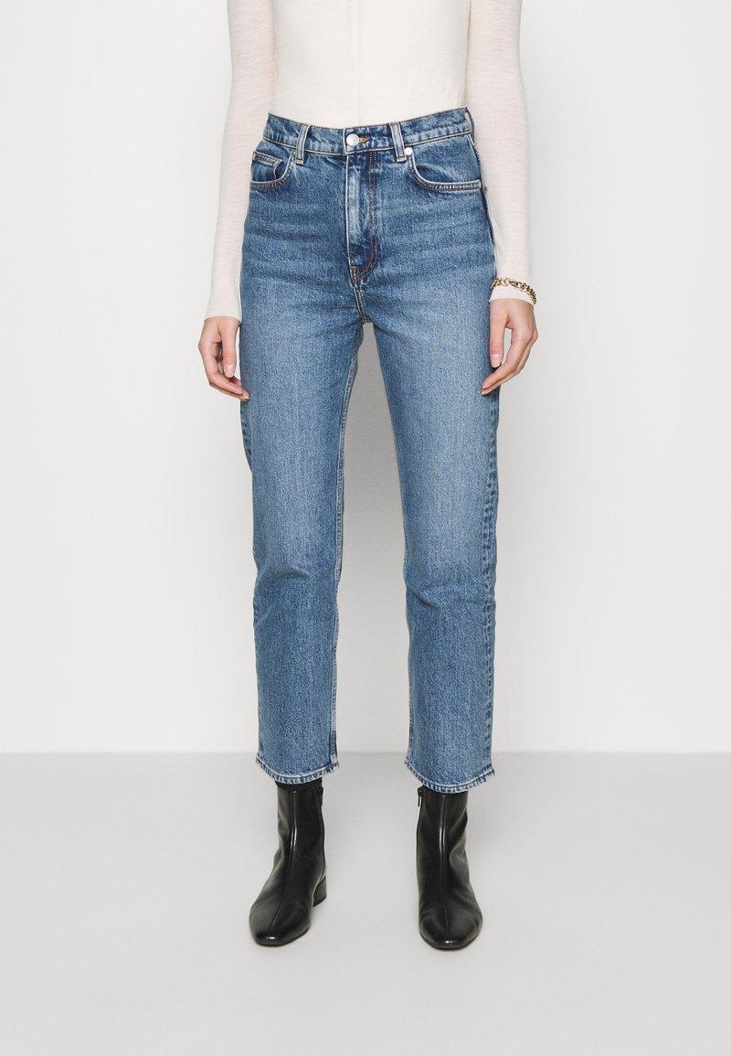 ARKET - Straight leg jeans - blue medium