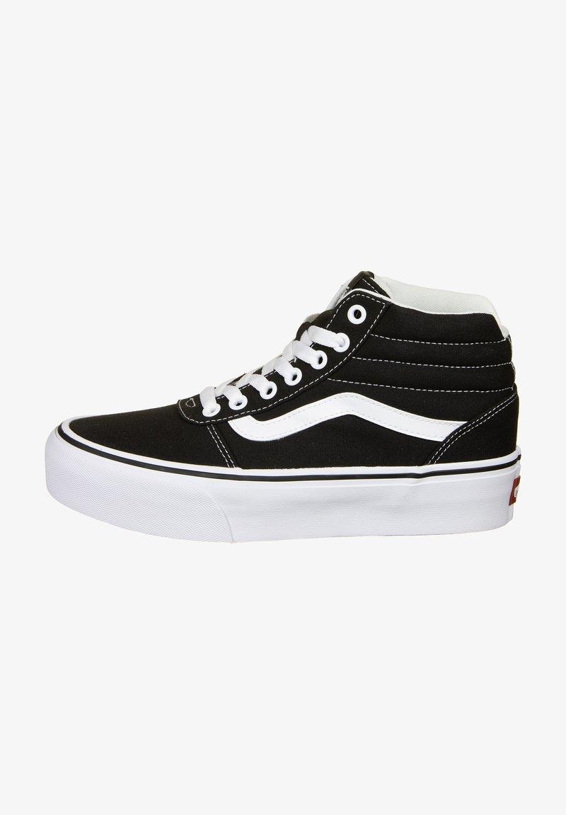 Vans - Skate shoes - black/true white