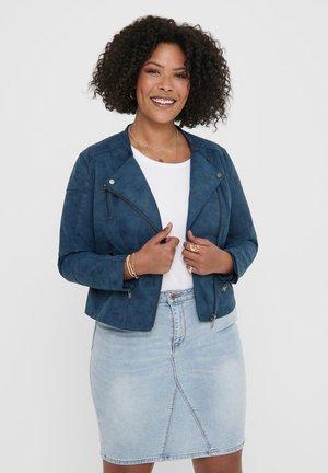 CARAVANA  - Faux leather jacket - dark denim