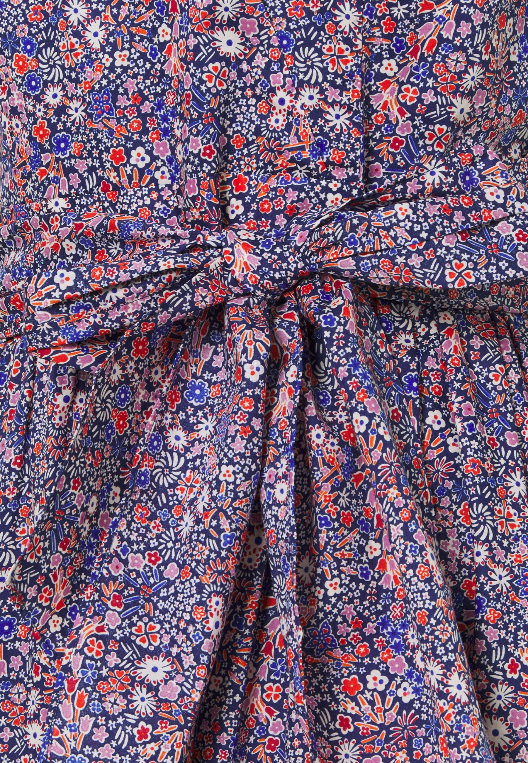 J.CREW WRAP DRESS LIBERTY KAYOKO FLORAL - Hverdagskjoler - cool multi