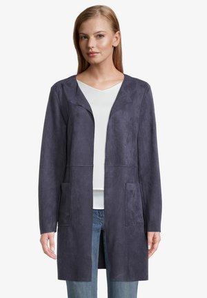 OHNE VERSCHLUSS - Short coat - dunkelblau