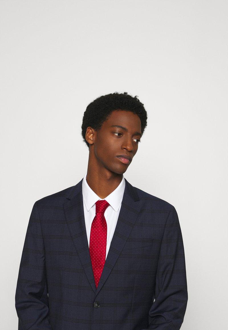 Calvin Klein - DOT TIE  - Tie - red