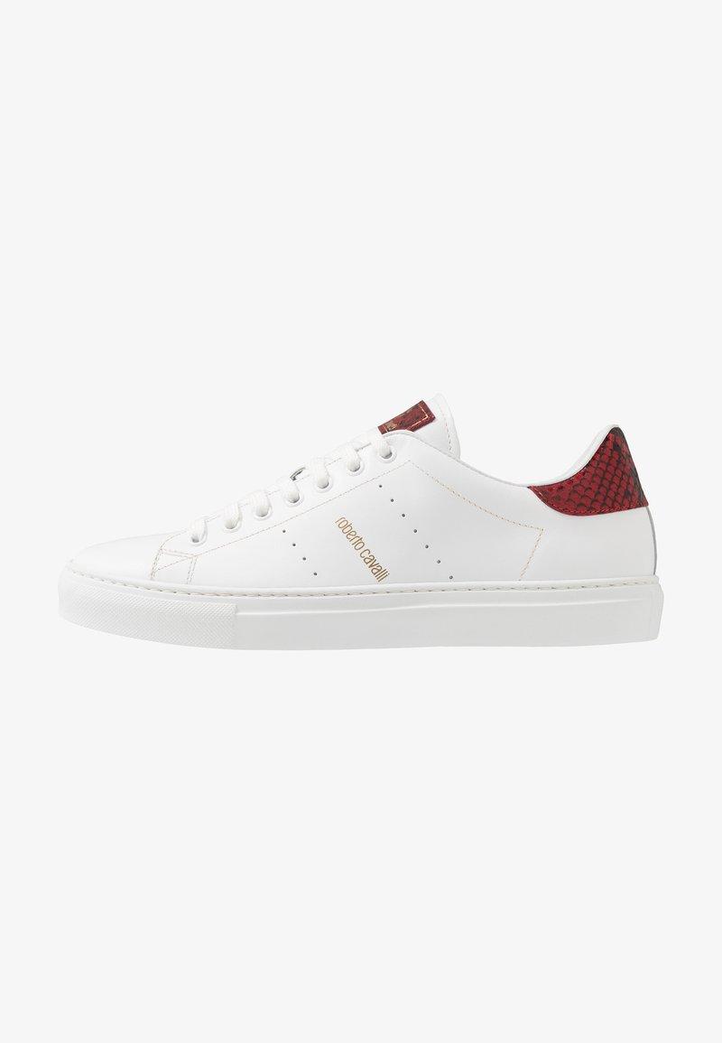 Roberto Cavalli - Sneakersy niskie - white/red