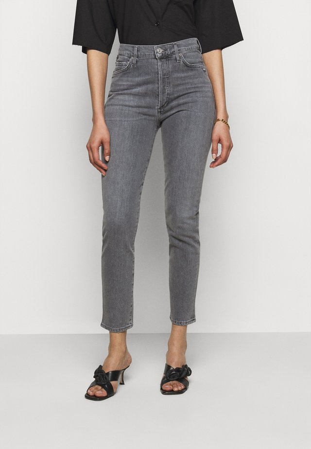 OLIVIA - Jeans slim fit - silvermist