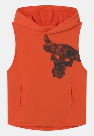 PROJECT ROCK - Sweatshirt - rogue orange