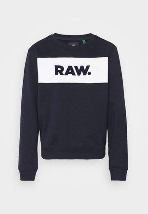 XZULA PANEL - Sweatshirt - mazarine blue