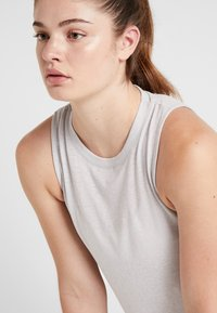 Cotton On Body - ACTIVE CURVE HEM TANK - Top - grey marle - 3