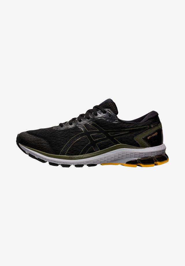 Sneakersy niskie - black/smog green