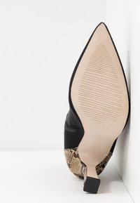 RAID - OLINIA - High heeled ankle boots - black/beige - 6