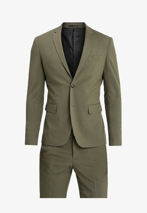 PLAIN MENS SUIT - Suit - olive