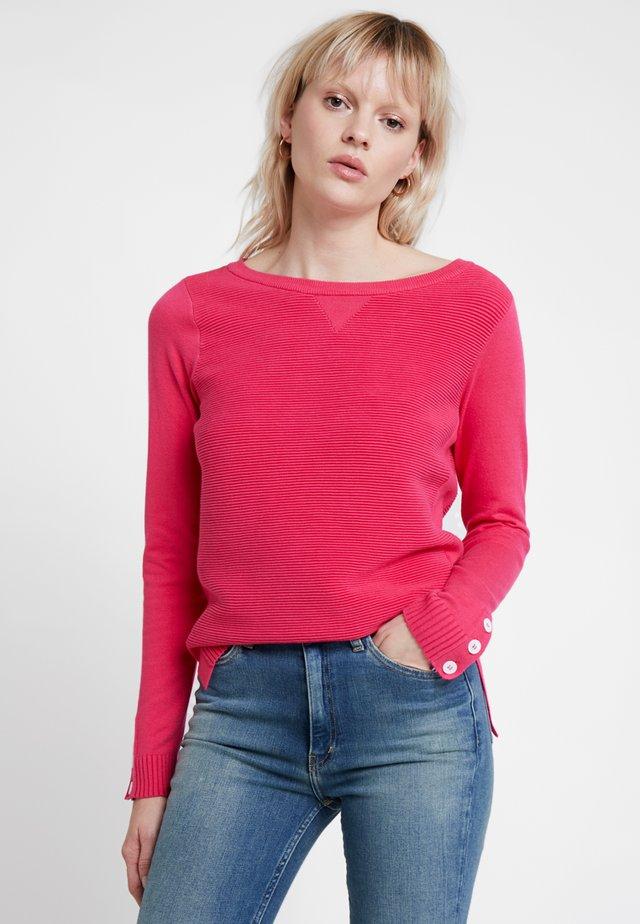 COURTNEY - Strikkegenser - pink