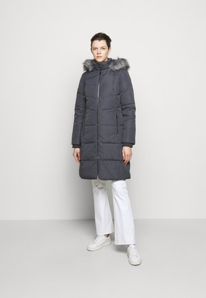 HAND COAT HOOD - Down coat - slate grey