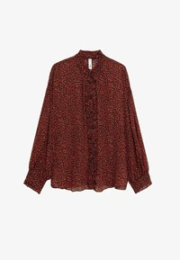 Mango - GARDEN - Button-down blouse - rood - 5